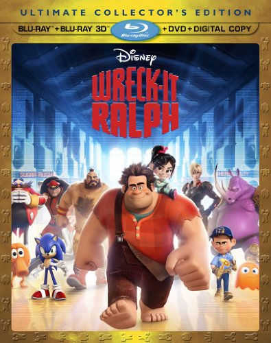 510ccBRhd8L Wreck It Ralph (Blu ray 3D/Blu ray/DVD + Digital Copy)