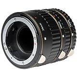 Set 3 tubos de extensión Vivitar VIV-EXT-N para Nikon.
