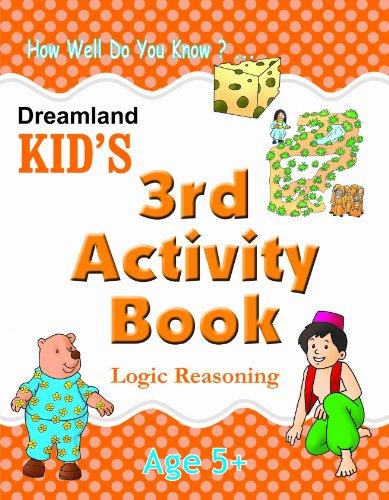 3rd Activity Book   Logic Reasoning (Kid's Activity Books) Image