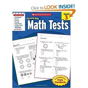 Scholastic Success with Math, Grade 3 (Scholastic Success with Workbooks: Math) Scholastic