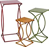 Foreside Metal Nested Side Table Set