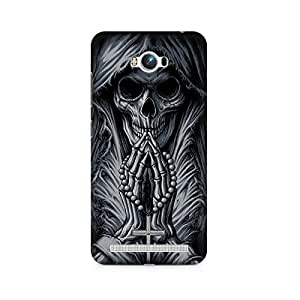 Mobicture Skull Art Premium Printed Case For Asus Zenfone Max