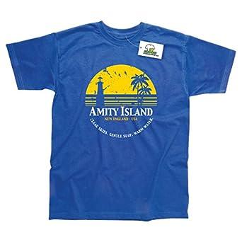 Amity Island Jaws T-Shirt Small