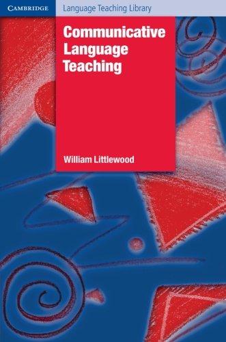 Communicative Language Teaching Paperback: An Introduction (Cambridge Language Teaching Library)