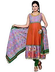 Roopali Creations Women's Chanderi Silk Salwar Suit Set - B013SVNPJK