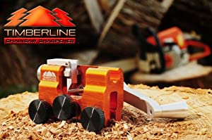Timberline Chainsaw Sharpener with 3/16 Carbide Cutter