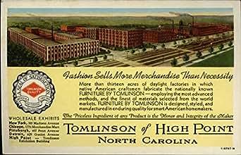 Tomlinson Furniture Factory High Point North Carolina
