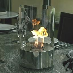 Accenda Tabletop Bio Ethanol Fireplace by Bluworld