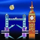Sequin Art Style London Skyline