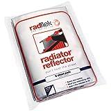 Radflek Radiator Reflectors with Radstik (5 Sheets, 4 Adhesive Strips, Fits 5-10 Radiators)