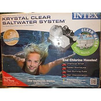 Intex Krystal Clear Saltwater System