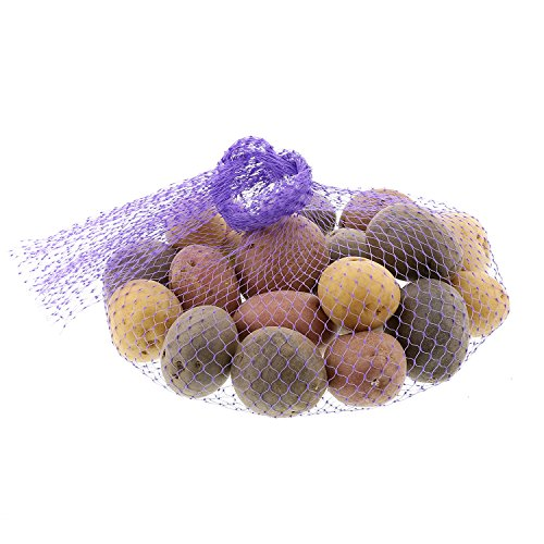 Royal Purple Plastic Mesh Produce and Seafood, 24
