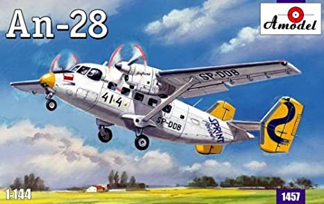 A Models 14457 Antonov AN-28 1:144 Plastic Kit Maquette