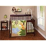 Little Bedding Jungle Time 3 Piece Crib Set