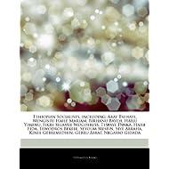 Articles on Ethiopian Socialists, Including: Abay Tsehaye, Mengistu Haile Mariam, Birhanu Bayeh, Hailu Yimenu,...