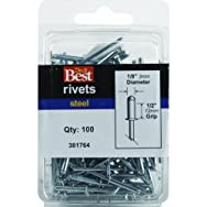 Do it Best Global Sourcing381764Do it Best POP Rivets-1/8X1/2 STL POP RIVET