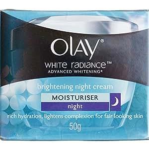 Olay White Radiance Advanced Fairness Night Restoring Cream 50g