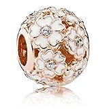 Fit Pandora ROSE White Primrose Meadow Charm 781488EN12