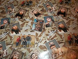 Amazon.com: Hallmark Duck Dynasty Party Wrapping Paper: Health