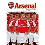 Arsenal アーセナル オフィシャル 壁掛け カレンダー 2015