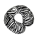 Aidapt Zebra Print Memory Foam Neck Cushion