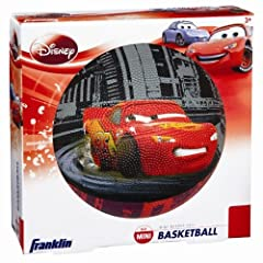 Buy Franklin Sports Disney Pixar Cars Mini Rubber Basketball by Franklin Sports