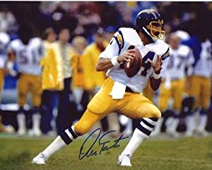 DAN FOUTS signed autographe d NFL SAN DIEGO CHARGERS photo (2)