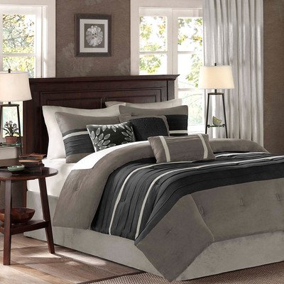 Palmer 7 Piece Comforter Set Size: Queen front-899896