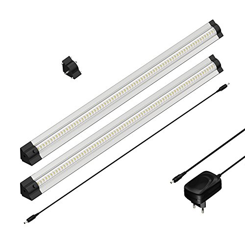 parlat-led-luminaire-sous-meuble-sirius-triangulaire-par-50cm-400lm-blanche-chaude-lot-de-2