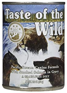 Taste Of The Wild Pacific Stream Canned Dog Food 12/13.2oz