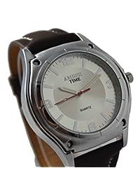 SHVAS -- ELEMENT PRO - Black Dial Diamond Studded Rim Watch For Men