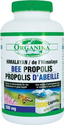 Organika Himalayan Bee Propolis, 500Mg, 200 Capsules