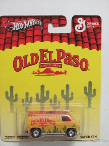 Hot Wheels General Mills Old El Paso Super Van Yellow/Red