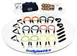 Bodylastics Resistance Bands 388 lbs. of resistance ***Mega Resistance Family Edition with User Book, Bonus DVD and Six DVD Muscle Building Workout box set