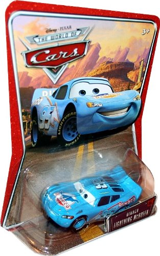 Buy Low Price Mattel DINOCO LIGHTNING MCQUEEN #05 Disney / Pixar CARS 1:55 Scale THE WORLD OF CARS Die-Cast Vehicle Figure (B003DWQ44S)