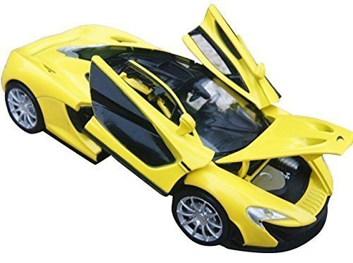 NuoYa001 New 1:32 McLaren P1 Alloy Diecast car model collection with light & sound yellow
