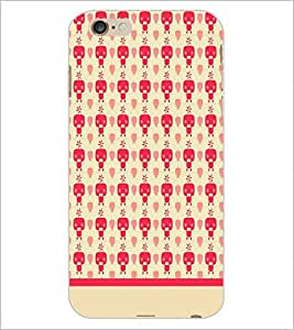 PrintDhaba Pattern D-1901 Back Case Cover for APPLE IPHONE 6 (Multi-Coloured)