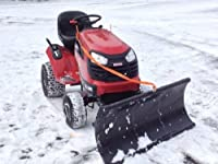 Nordic Auto Plow Lawn Tractor Plow - 48i...