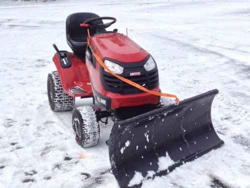 New Nordic Auto Plow Lawn Tractor Plow – 48in., Model# NAP-R201 [Automotive]