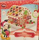 Disney Mickey Mouse Holiday House Gingerbread Kit