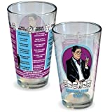 ICUP Archer Drinking Game Pint Glass, Clear