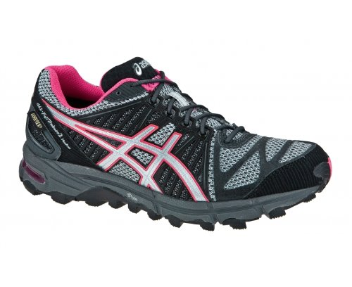 ASICS GEL-FUJITRABUCO NEUTRAL 2 Women's GORE-TEX Trail Running Shoes - 8.5 - Grey