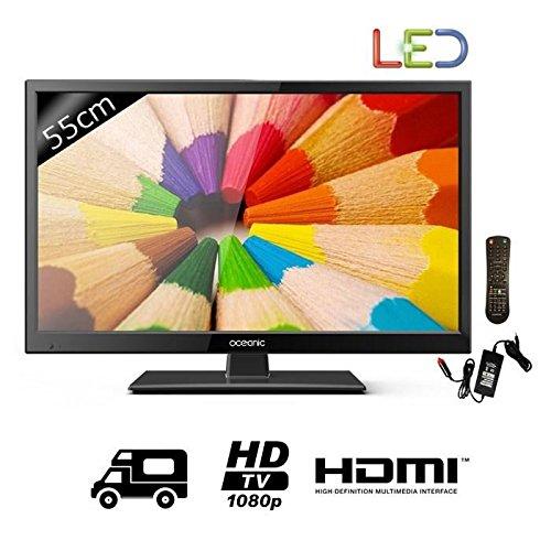 Oceanic TV cc215b2-Full HD 1080p-55cm (21,5'pulgadas) LED-12-24V y 220V-1HDMI-clase B