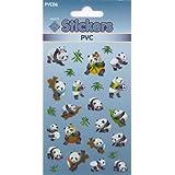 PVC Panda Stickers