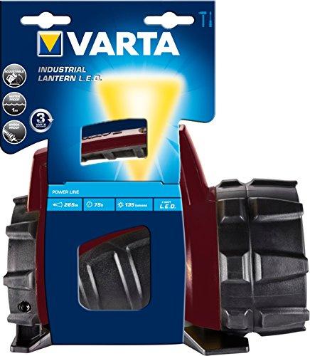 Varta 17652101111 Torcia Industrial Beam Lantern LED 4D