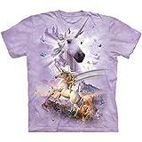 The Mountain Double Rainbow Unicorn T-shirt