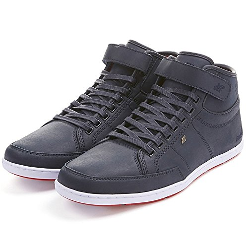 Boxfresh Swich Blok BSC Leather Schuhe dark navy-fiery red - 44