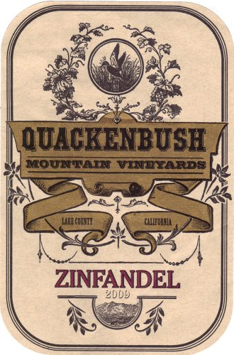 2009 Rutherford Grove Quackenbush Mountain Zinfandel 750 Ml