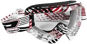 Progrip Triple Foam Sport Graphic Goggles (Red/Black)
