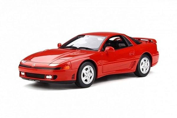 OttOmobile 1991 Mitsubishi GTO Twin Turbo Hard Top, Passion Red OT233 - 1/18 Scale Resin Model Toy Car